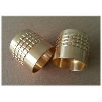 China Gold Plated RF Coaxial Connector CNC Milling Parts for Aerospace Telecommunication , Precision Turned Parts wholesale