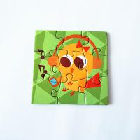 Quality Waterproof strong fridge magnets Puzzle For Kids Toy for sale
