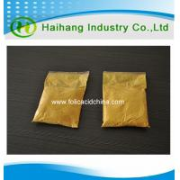 China Competitive price Folic acid food grade use for Nutritional Supplement on sale