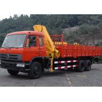 Quality Commercial Knuckle Boom Truck Mounted Crane , 6300kg Weight for Lifting for sale