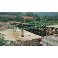 Quality Well-Adapted Modular Steel Bailey Bridge Used In Mountainous Area With Heavier Load Capacity for sale
