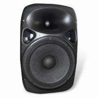 China 15-inch Active Speaker Box with 180W Power and 44mm Titanium Driver on sale