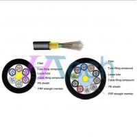 Quality Unarmoured in/out 12 Cores Dielectric Fiber Optic Cable GYFTY for sale