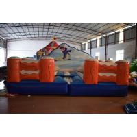 China Exciting Inflatable Sport Games Size 5x5m / Inflatable Skiing Games Inflatable Simulated Surfing Games for sale
