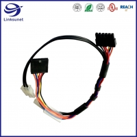 Quality Industrial Wire Harness with 43645 43640 3.0mm Single Row Connectors for sale