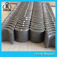 Quality Industrial Ferrite Arc Magnet For PMSM Motor ROHS SGS ISO9001 Certification for sale