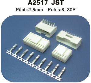 China Copy JST 2.5mm Pitch housing plug and crimp terminal connectors on sale