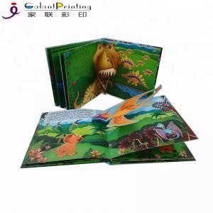 China 3D Cartoon Children'S Pop Up Story Books Fun Activity Books Glossy Finishing on sale