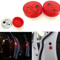 Buy cheap Car Door Warning Light with Red Strobe Flashing Led Open Safety Lights Reflecto from wholesalers