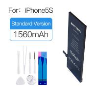 Quality MSDS UN38.3  Iphone 5s Lithium Ion Battery 1560mAh 0 Cycle New Replacement for sale