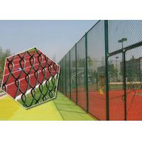 Quality 80mm Pvc Coated Chain Link Mesh for sale