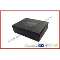 Quality Rigid Luxury Gift Boxes With Foil Lid And Base Matt Lamination for sale