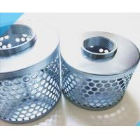 China 1-8  steel Suction Tin Galvanezed Can Strainers stainless steel  Suction Filter Strainer on sale