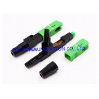 Quality FTTH Fast Connector SC Fiber Optic Quick Connector UPC APC Available for sale