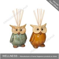 Quality Cute colorful animal shaped ceramic reed diffuser for home decoration for sale