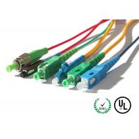 Quality Fiber Optic Patch Cord In SC / LC / FC / ST Connectors for sale