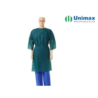 Quality Short Sleeves ISO13485 PP Disposable Isolation Gowns for sale