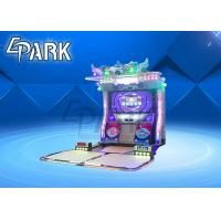 Quality 55 Inch LED Push Coin Game Dance Arcade Machine Wonderful Music Fashionable for sale