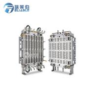 Quality Hot Runner Injection Molding Molds , PET Preform Mould HRC45 - HRC48 Hardness for sale