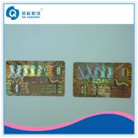 Buy Laser Custom Hologram Stickers , Air Conditioning Warranty Stickers Roll at wholesale prices