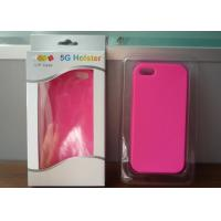 Quality OEM custom design silicone iphone 5 bumper case / silicone iphone 5 holster for sale