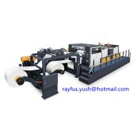 Quality Rotary Sheeter Stacker Paper Roll To Sheet Cutting Machine Dual Roll High Efficiency for sale