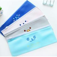 Leather PVC Promotional Bag Customized Color For Pencil Stationery