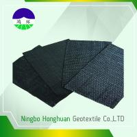 Recycled/Virgin PP 160kN  Split Film Woven Geotextile For Railway Project 740gsm