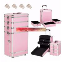 Quality Wheel Cosmetic Case Drawer Professional for sale