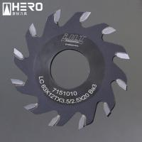 Buy cheap Durable V Groove Circular Saw Blade Sharpen 4.5 Inch TCT With Expansion Slot from wholesalers