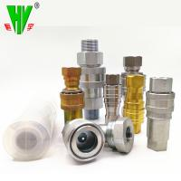 Quality Hydraulic union fitting quick release coupling high pressure quick couplers for sale