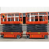 Quality Flexible Simple Self Propelled Elevating Work Platforms Stable Performance for sale