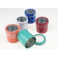 Quality Metal Game Tin Box , Colorful Mini Magnetic Tea Storage Box With Shrink Packing for sale