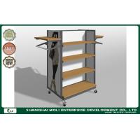 Quality Customized Metal Retail Garment Racks display stand and clothes shop furniture for sale