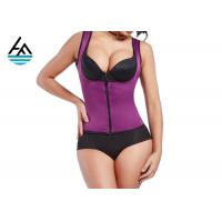 Quality Durable XL Neoprene Slimming Suits Women's Sauna Shirt Screen Printing for sale