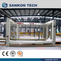 Quality Horizontal SANKON 12.9kw AAC Block Cutting Machine for sale