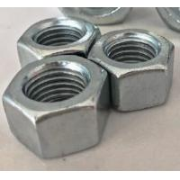 Quality Galvanized All Metal Hex Lock Nut DIN 980 Prevailing Torque Type M12x25 Size for sale