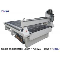 Quality MDF Cutting 3 Axis CNC Router Engraver With Square Spindle Vacuum Table for sale