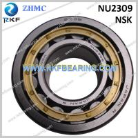 Quality NSK NU2309 45x100x36mm Cylindrical Roller Bearing With Machined Brass Cage for sale