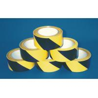 Quality two color pvc warning stripe tape for sale