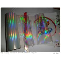 China holographic  transparent hot stamping foil on sale