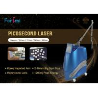 Quality clinic use professional 2018 most popular 600ps Picosecond laser for all colors tatoo removal for sale