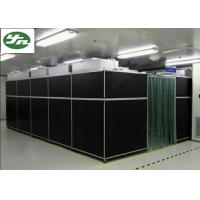 Quality Vertical Flow Class 100 Cleanroom , PVC Transparent Wall Clean Rooms Easy Move for sale