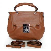 Buy Factory Price First Layer Cowhide Leather Fashion Messenger Bag Handbag #2763 at wholesale prices