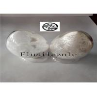 White Solid Flusilazole Fungicide , Broad Spectrum Fungicide High Purity