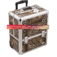 Quality Custom Aluminum Rolling Case for Cosmetics for sale