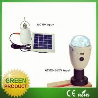 Quality Cheap price mini solar powered light, portable led solar light with remote control for hot sale for sale