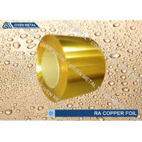 Quality High Phosphorus Content Yellow ID 75mm Brass Foil Fatigue Resistance for sale