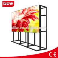 Quality 55 inch 3.5mm ultra narrow bezel LG video wall for sale