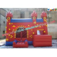 Quality Durable Inflatable Bouncer Slide , Fun PVC Tarpaulin Combo Jumpers For Toddlers Playing for sale
